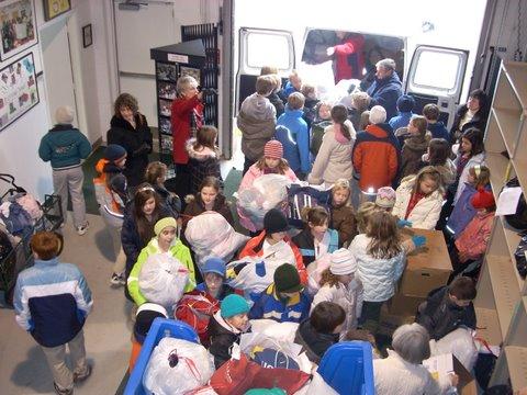 Delaware homelessness, clothing donation